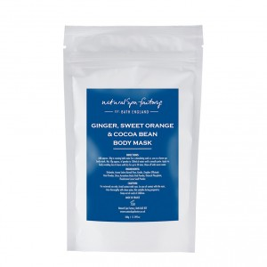 Ginger, Sweet Orange & Cocoa Bean Body Wrap