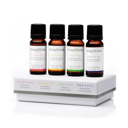 Signature Range Essential Oils 4 X 10ml
