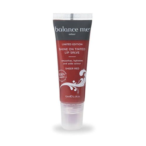 Shine On Tinted Lip Salve: Sheer Red