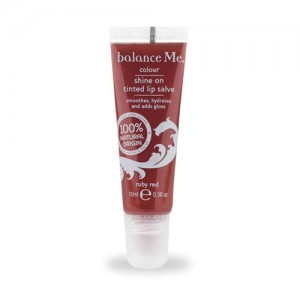 Shine On Tinted Lip Salve: Ruby Red