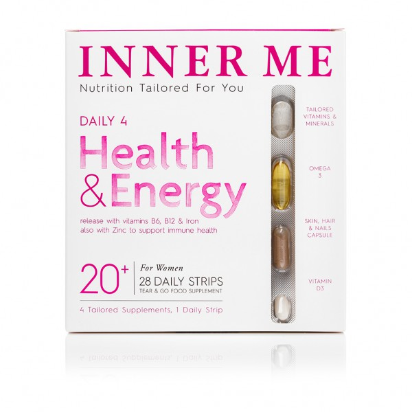 Daily 4 20+ Supplements By Inner Me