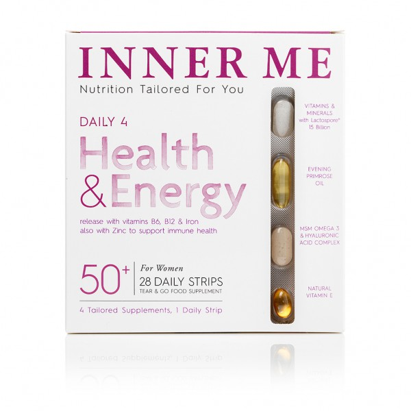 Daily 4 50+ Supplements By Inner Me