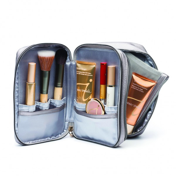 Deluxe Mirrored Cosmetic Bag