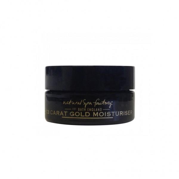 23 carat gold moisturiser