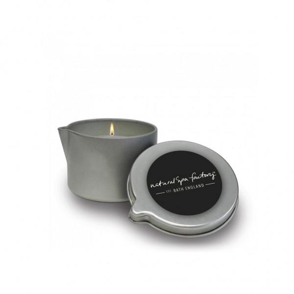 Rose Massage Tin Candle
