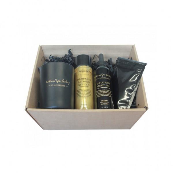 Natural Spa Factory Dazzling Gold Gift Set