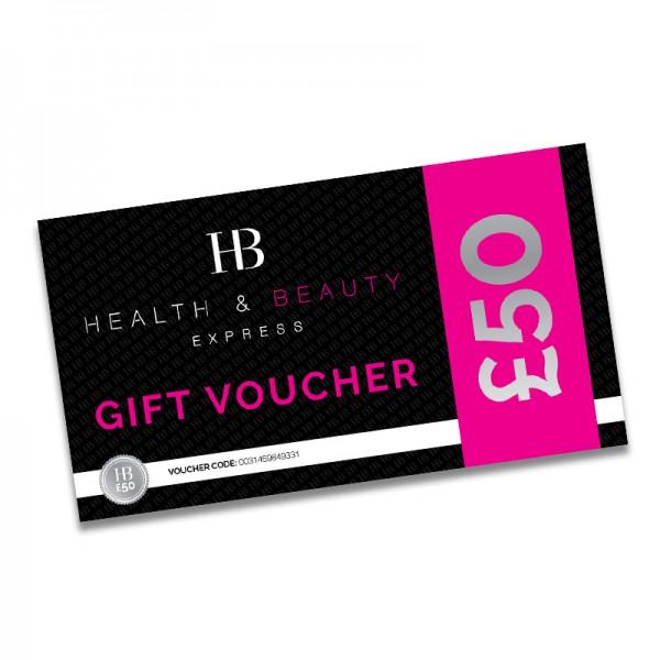 Health & Beauty £50 Gift Voucher