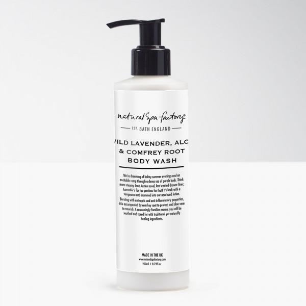 Wild Lavander, Comfrey & Aloe Vera Body Wash