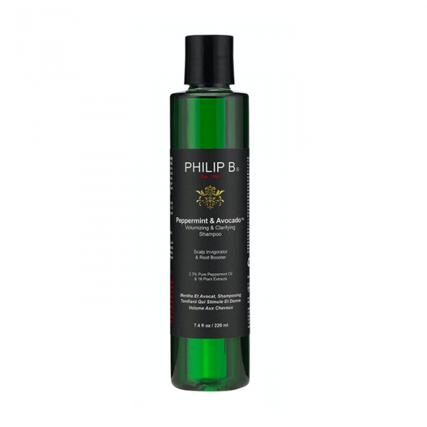 Peppermint & Avocado Volumizing & Clarifying Shampoo 220ml