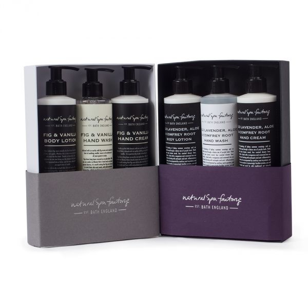 Lotion and Potion Gift Set - Fig & Vanilla